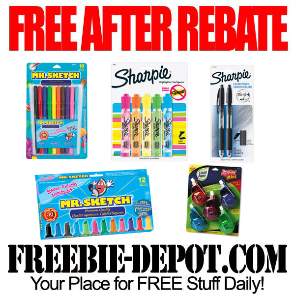 Free After Rebate Writing Utensils