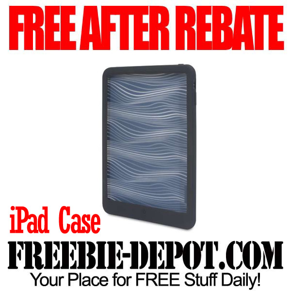 Free After Rebate iPad Case