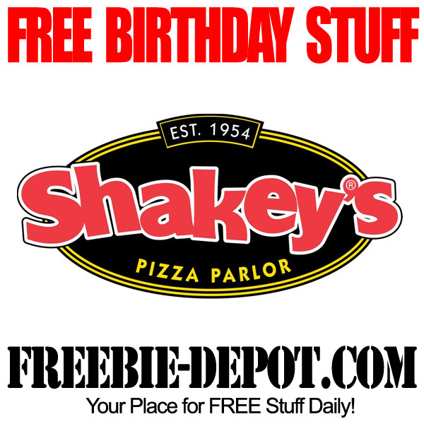 Free Birthday Pizza Buffet