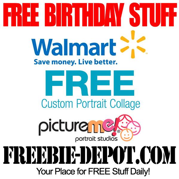 Free Birthday Portrait Collage