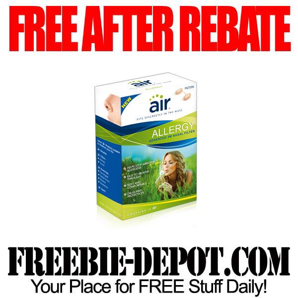 Free After Rebate Allergy Medicine