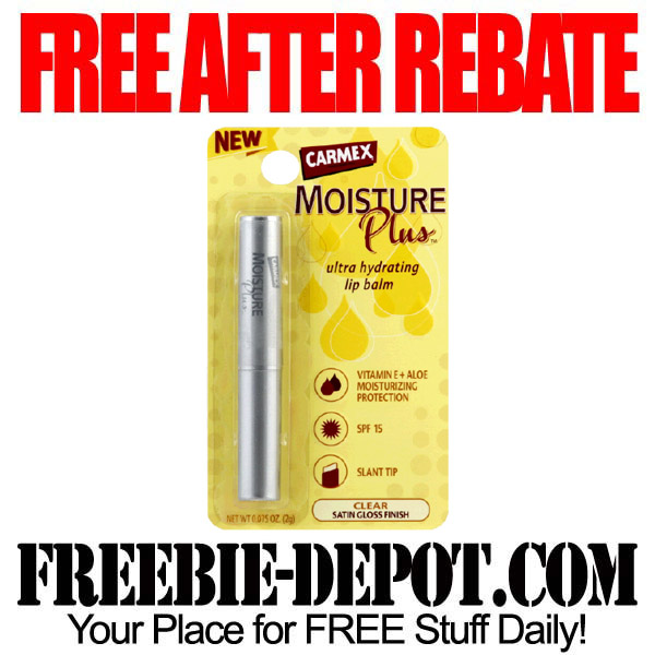 Free After Rebate Carmex