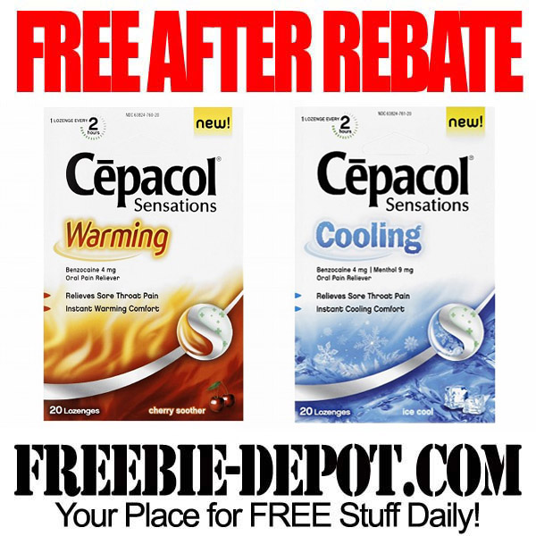 Free After Rebate Throat Lozenges