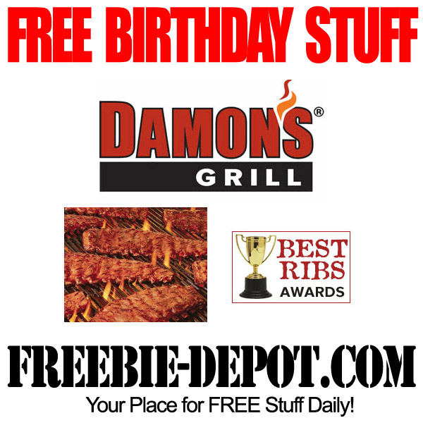 Free Birthday BBQ Ribs