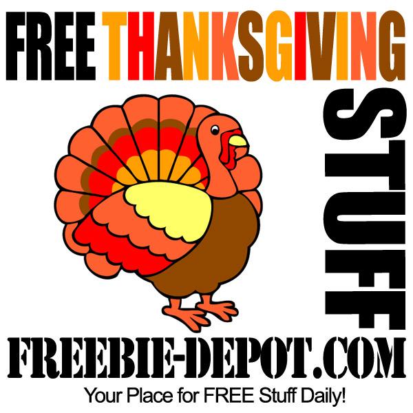 FREE Thanksgiving Stuff 2012