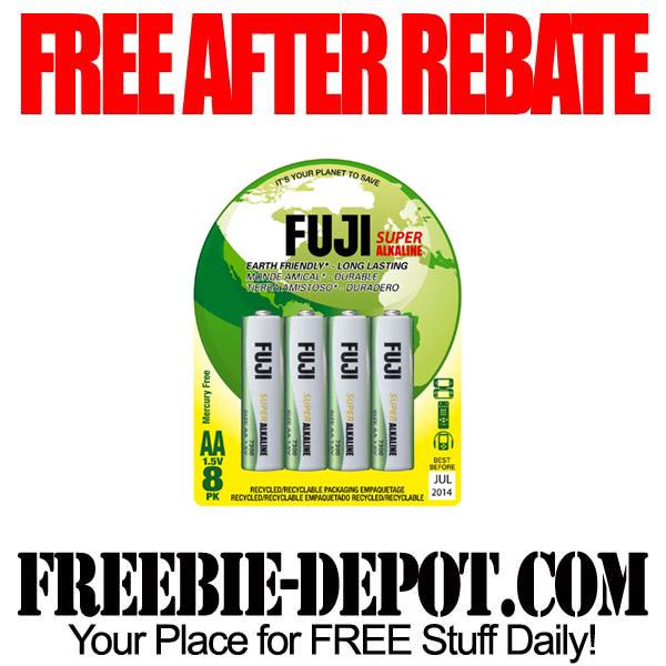 Free After Rebate Fuji Batteries