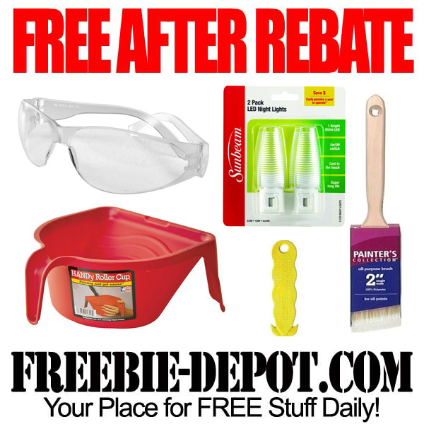 Free After Rebate Hardware Items