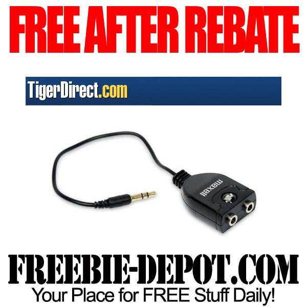 Free After Rebate Headphone Splitter