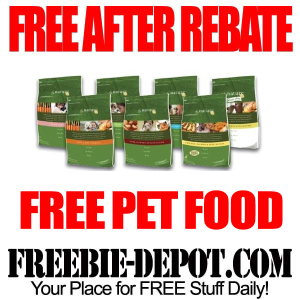 FREE After Rebate Pet Food