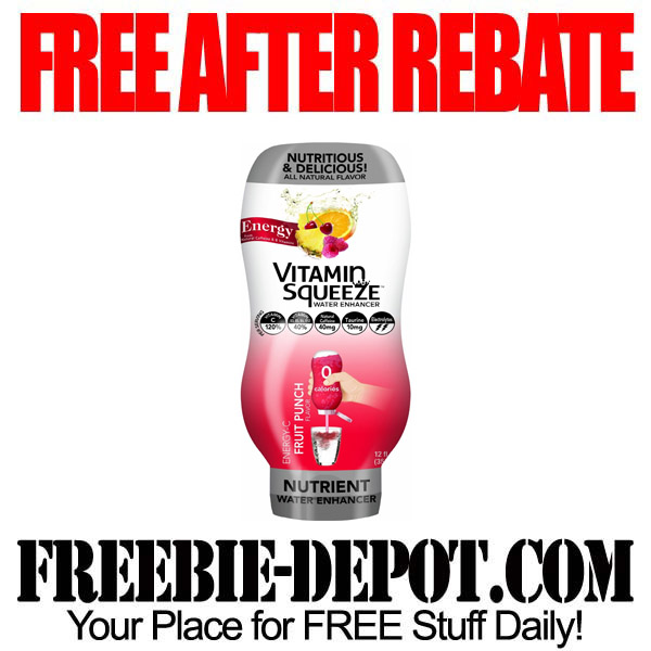 Free After Rebate Vitamin Squeeze