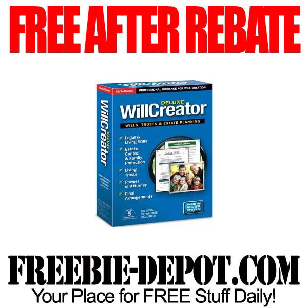 Free After Rebate Will Creator