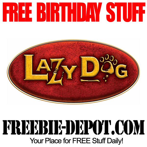 Free Birthday Lazy Dog Appetizer