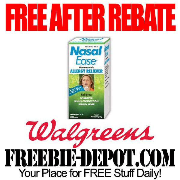 Free After Rebate Allergy Reliever
