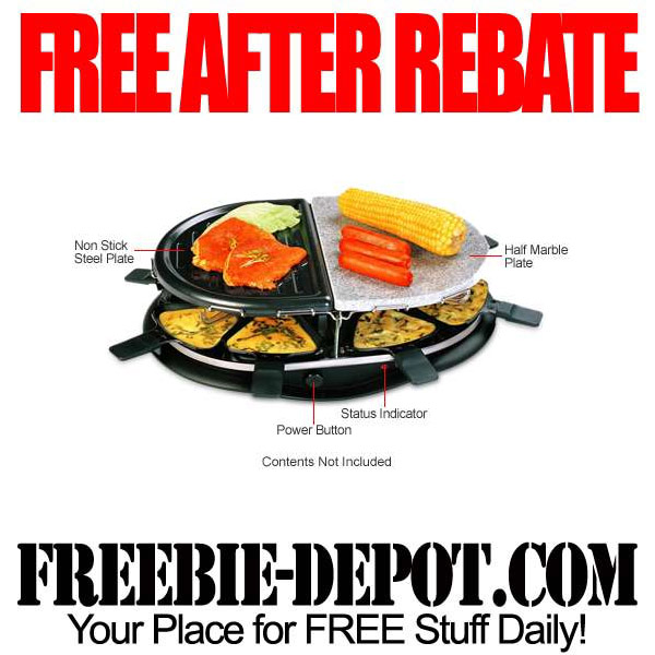 Free After Rebate Indoor Grill
