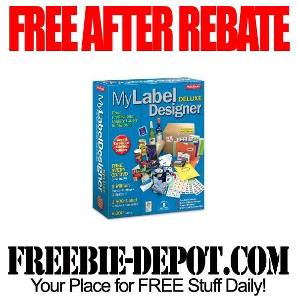 Free After Rebate Label Designer Software
