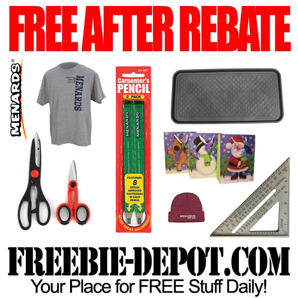 Free After Rebate Menards Stuff