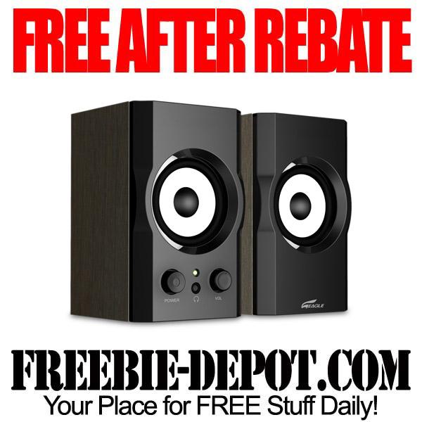 Free After Rebate Speakers