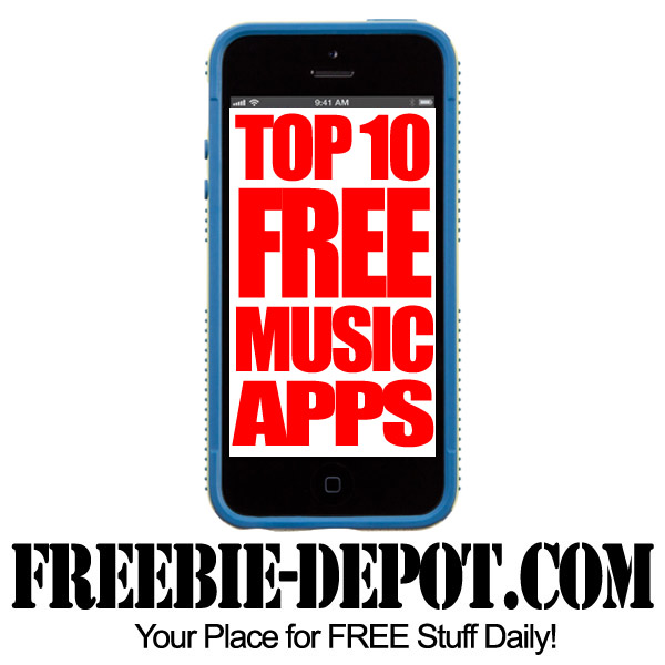 best free music app for iphone top 10 free apps for iphone freebie depot 18301