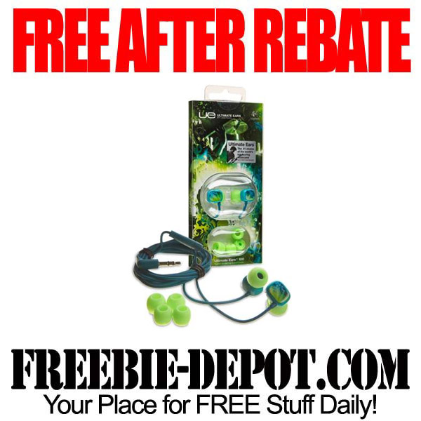 Free After Rebate Ear-Buds