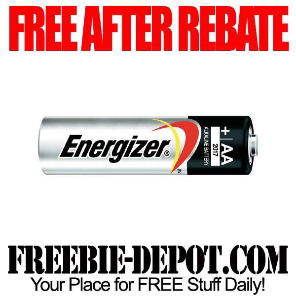 Free After Rebate Energizer AA