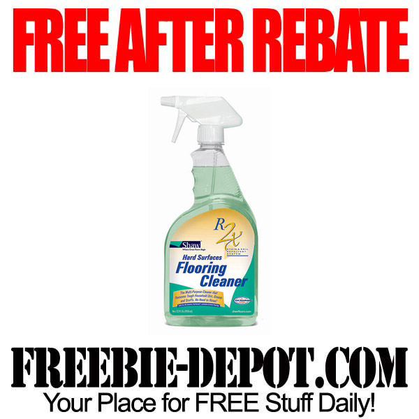 Free After Rebate Floor Cleaner