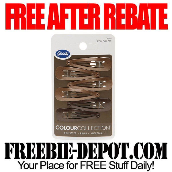 Free After Rebate Hair Clips