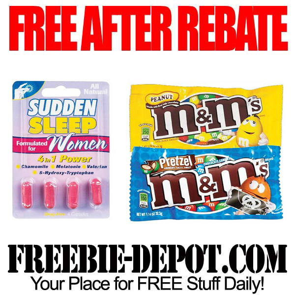 Free After Rebate Sleep & MMs