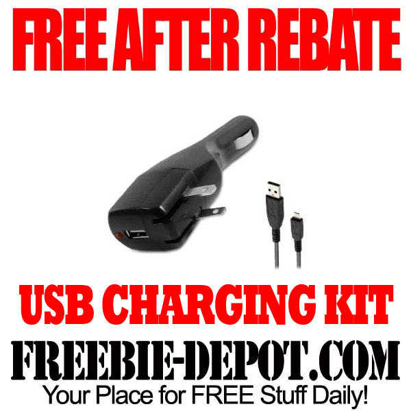 Free After Rebate USB Charging Kit