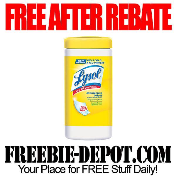 Free After Rebate Wipes
