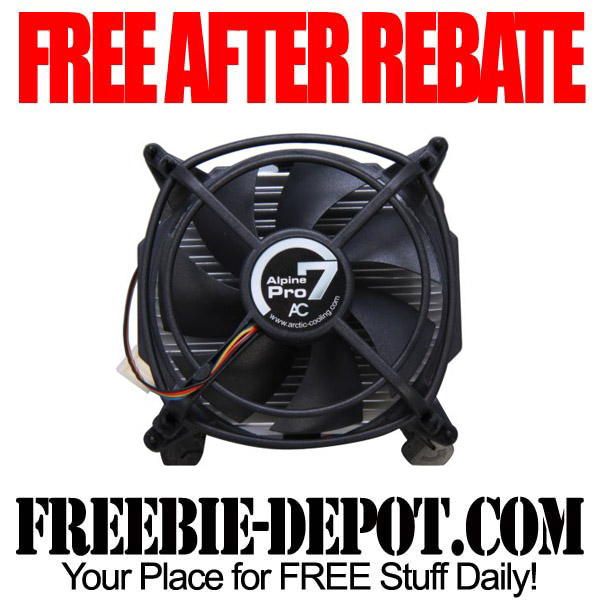 Free After Rebate CPU Cooler