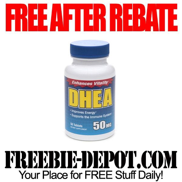 Free After Rebate DHEA