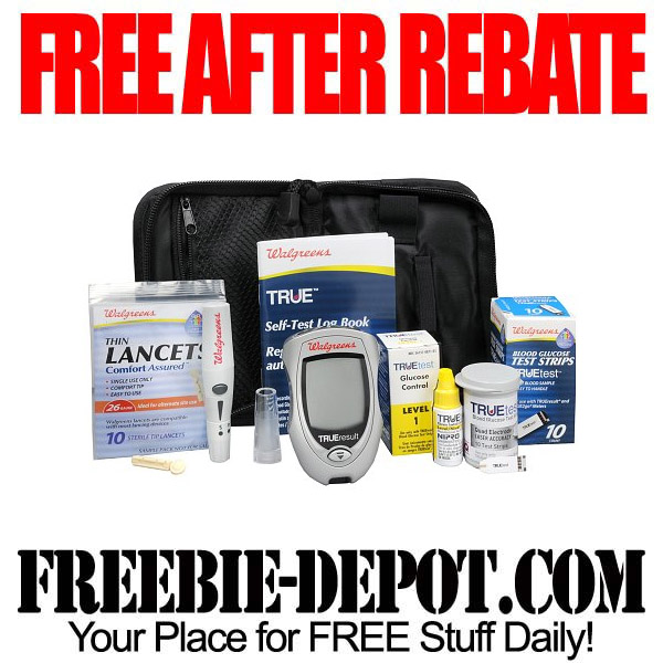 Free After Rebate Glucose Monitoring System