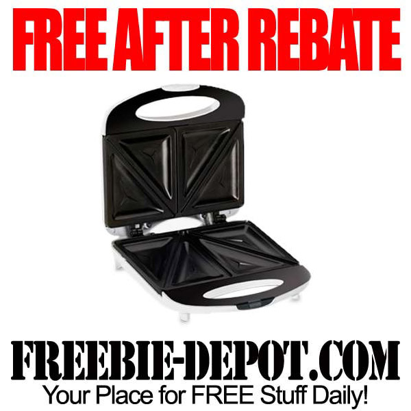 Free After Rebate Sandwich Maker