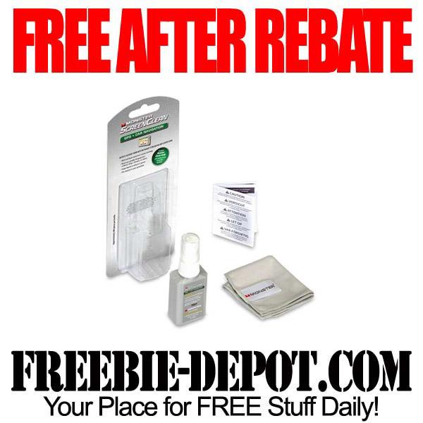 Free After Rebate ScreenClean