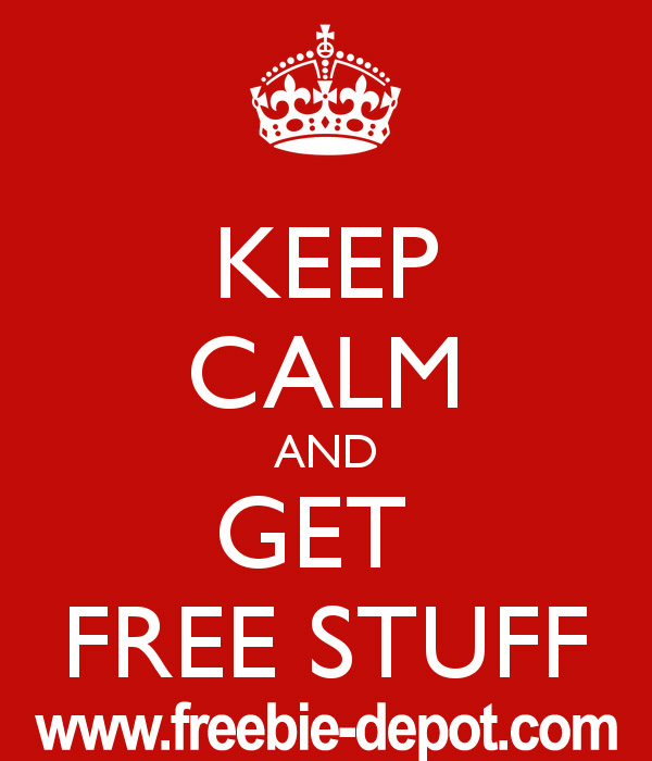 Keep Calm and Get FREE Stuff
