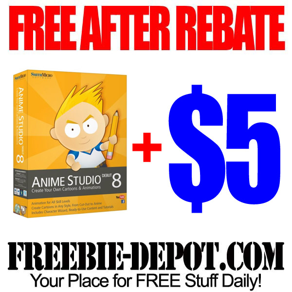 Free After Rebate Anime Software