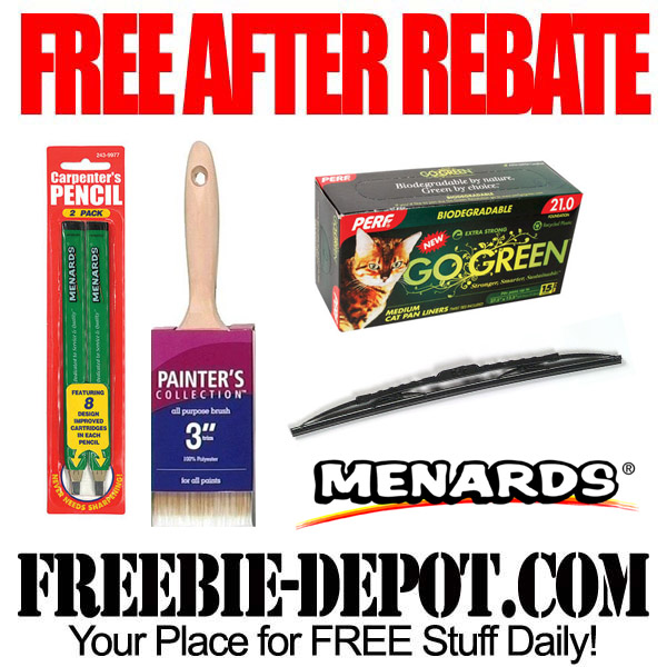 Free After Rebate Bags and Brushes