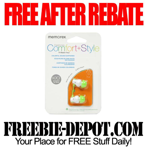 Free After Rebate Memorex Earbuds