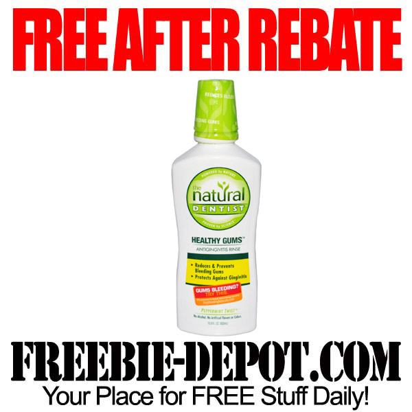 Free After Rebate Mouth Rinse