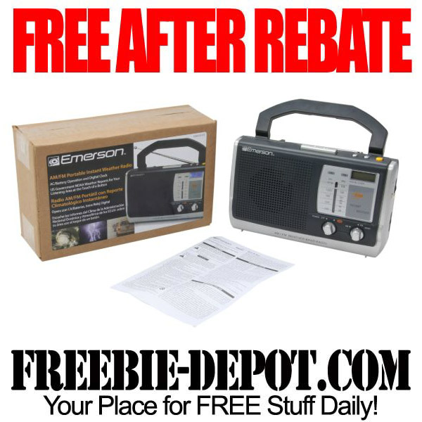 Free After Rebate Radio