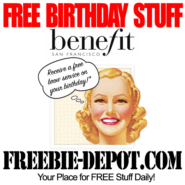 Free Birthday Brow Service