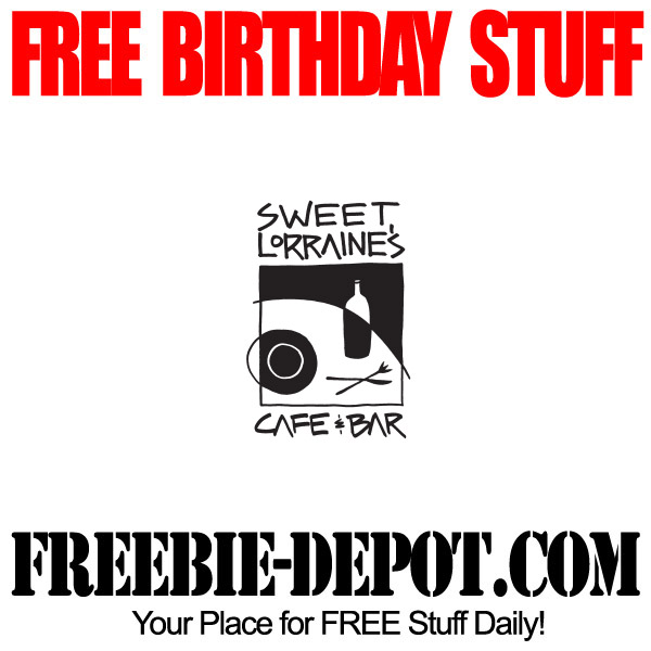 Free Birthday Sweet Lorraines