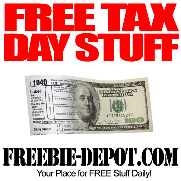 Free Tax Day Stuff 2013