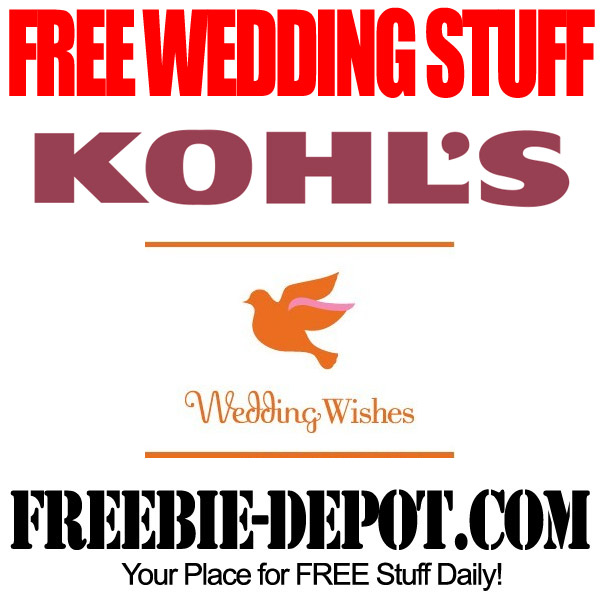 Kohls Wedding Registry Gift Card : Kohls has a great Wedding Registry program called Wedding Wishes ...