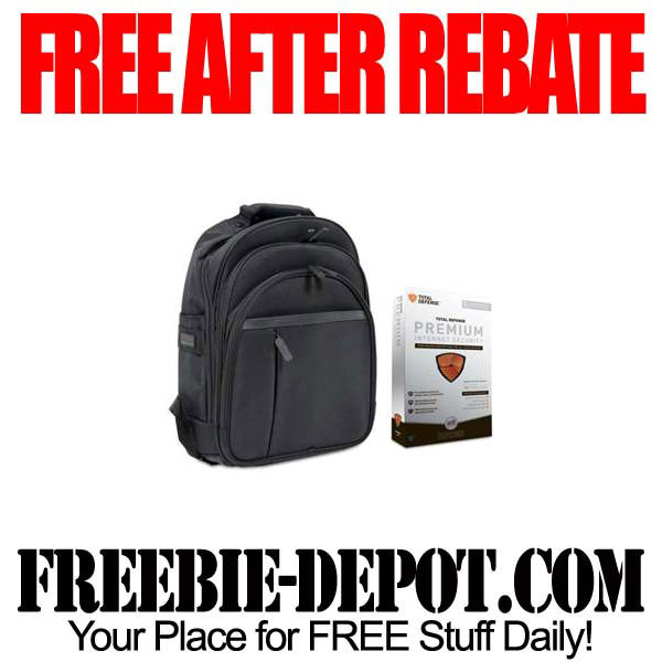 Free After Rebate Backpack and Software