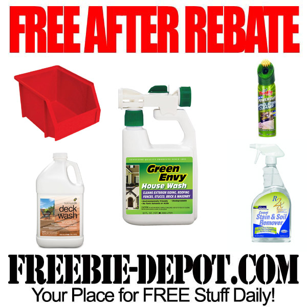 Free After Rebate Chemicals