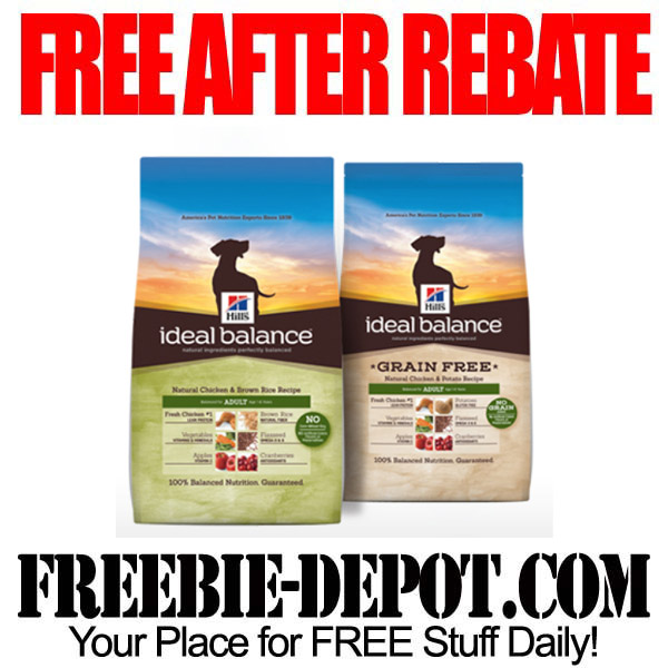 Free After Rebate Dog Food Bag