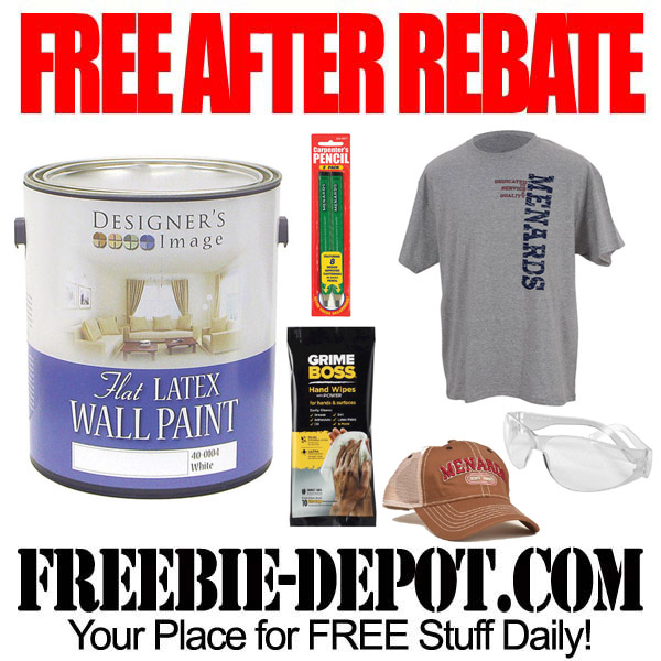 Free After Rebate Paint Gallons