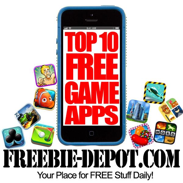 top ten iphone games free