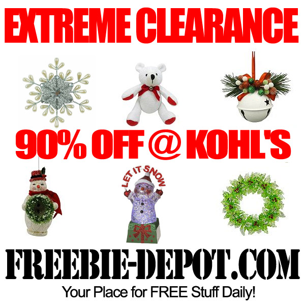 Extreme Clearance Christmas Kohls 90% OFF